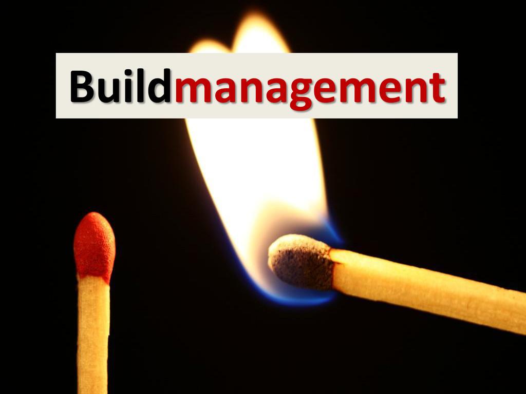 Buildmanagement