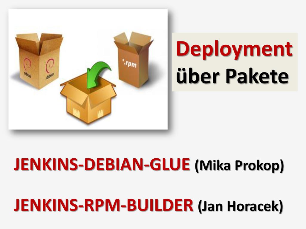 Deployment über Pakete JENKINS-DEBIAN-GLUE (Mik...