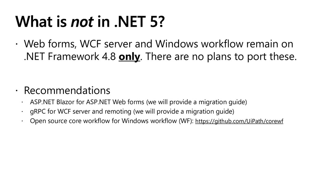  Web forms, WCF server and Windows workflow re...
