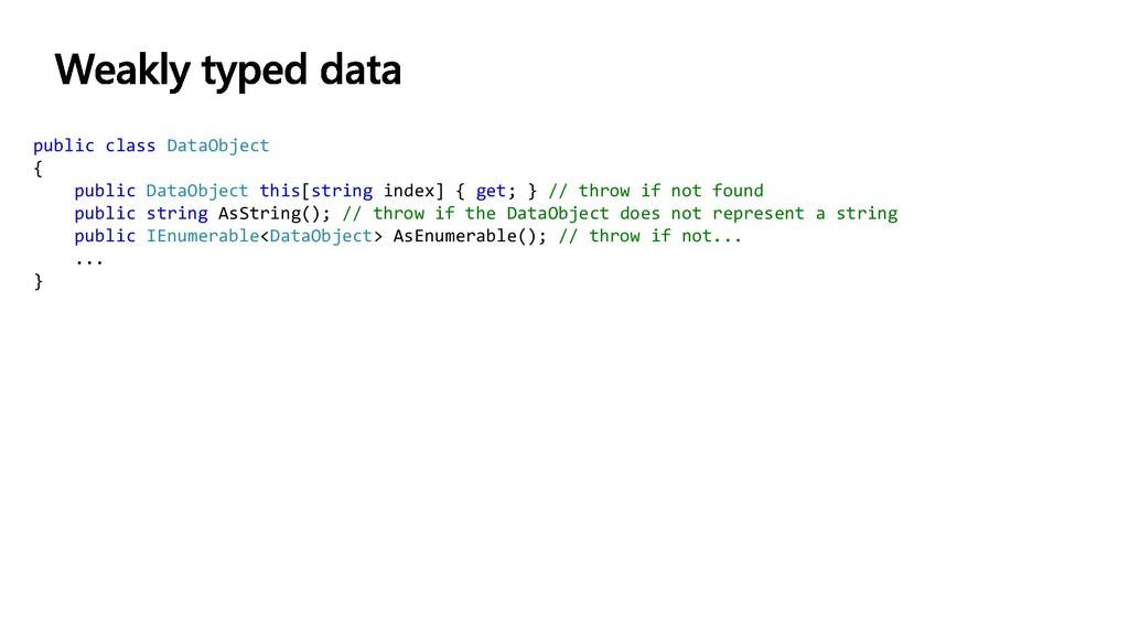 public class DataObject { public DataObject thi...