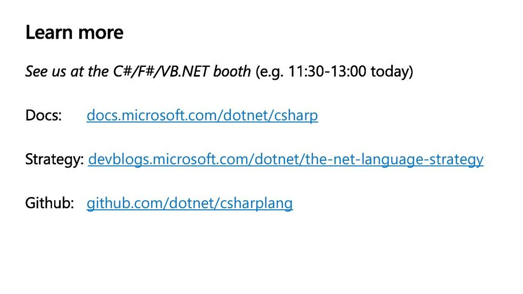 docs.microsoft.com/dotnet/csharp devblogs.micro...