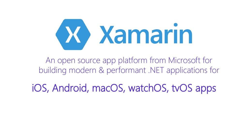 An open source app platform from Microsoft for ...