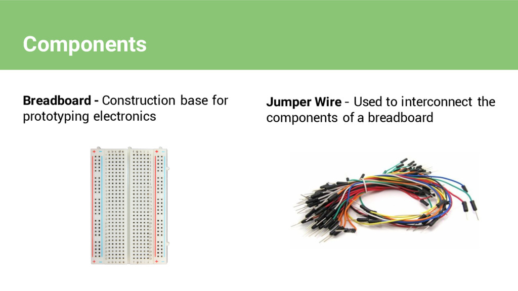 Components Breadboard - Construction base for p...