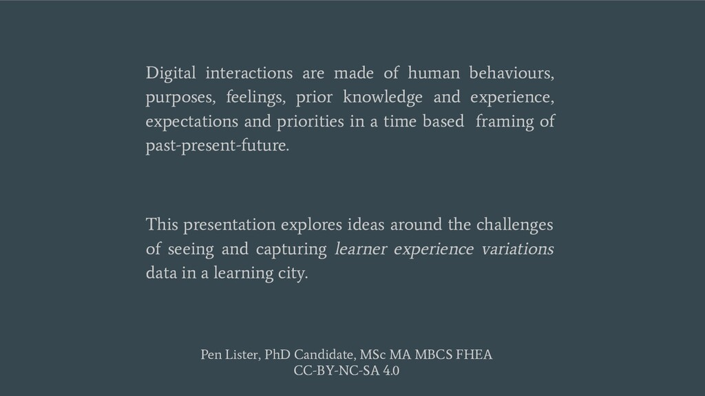 Digital interactions are made of human behaviou...