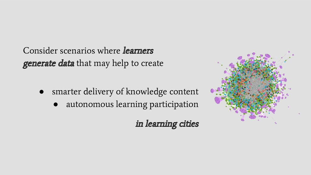 ● smarter delivery of knowledge content ● auton...