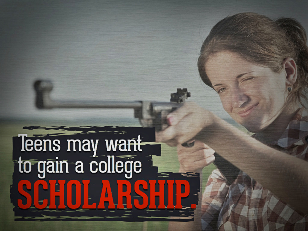 Teens may want to gain a college scholarship.