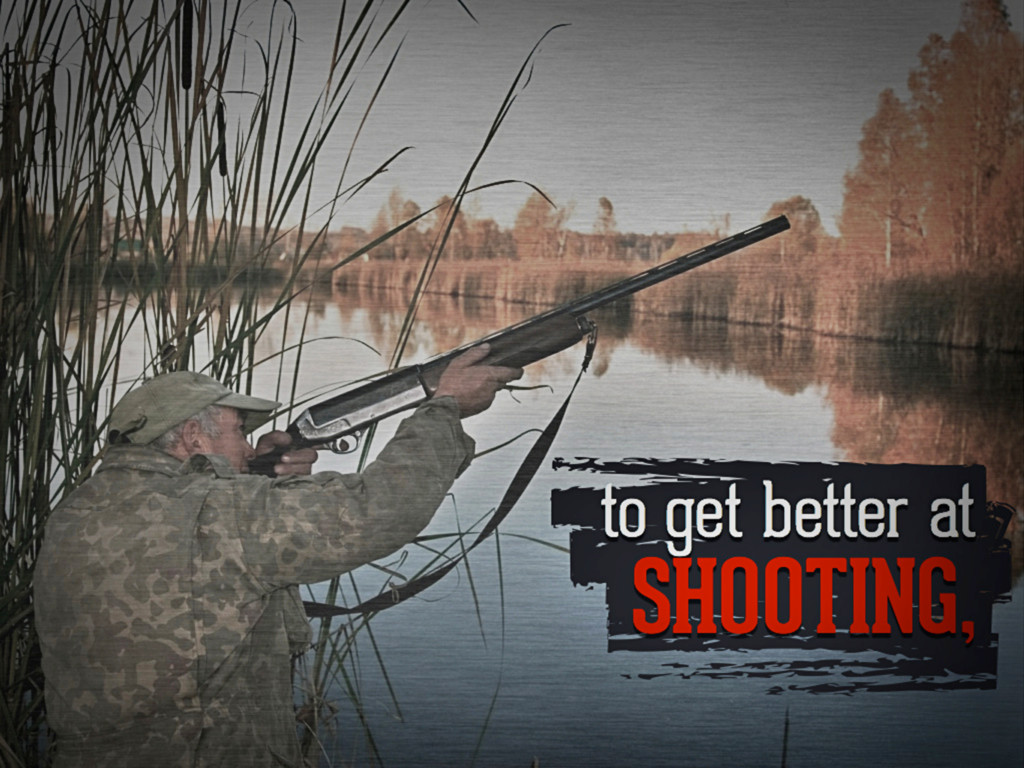 to get better at shooting,