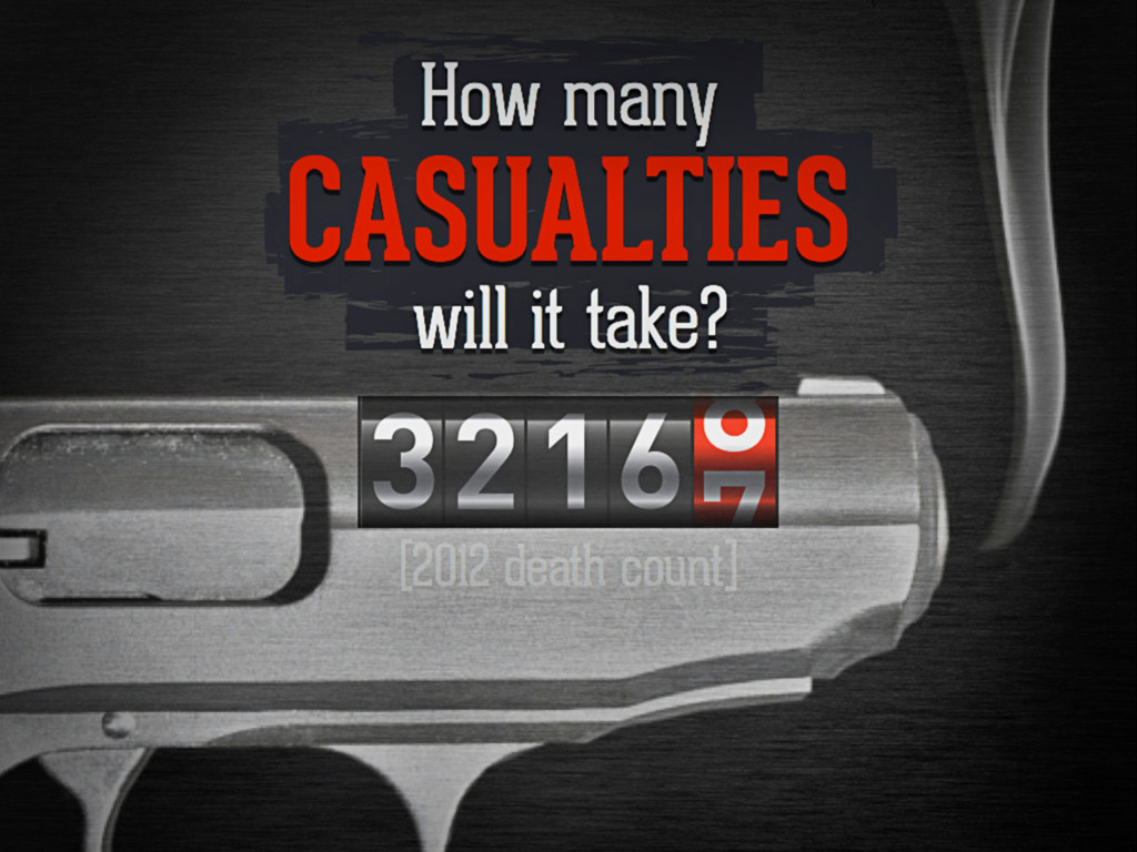 How many casualties will it take?