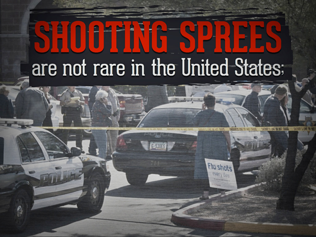 shooting sprees are not rare in the united stat...