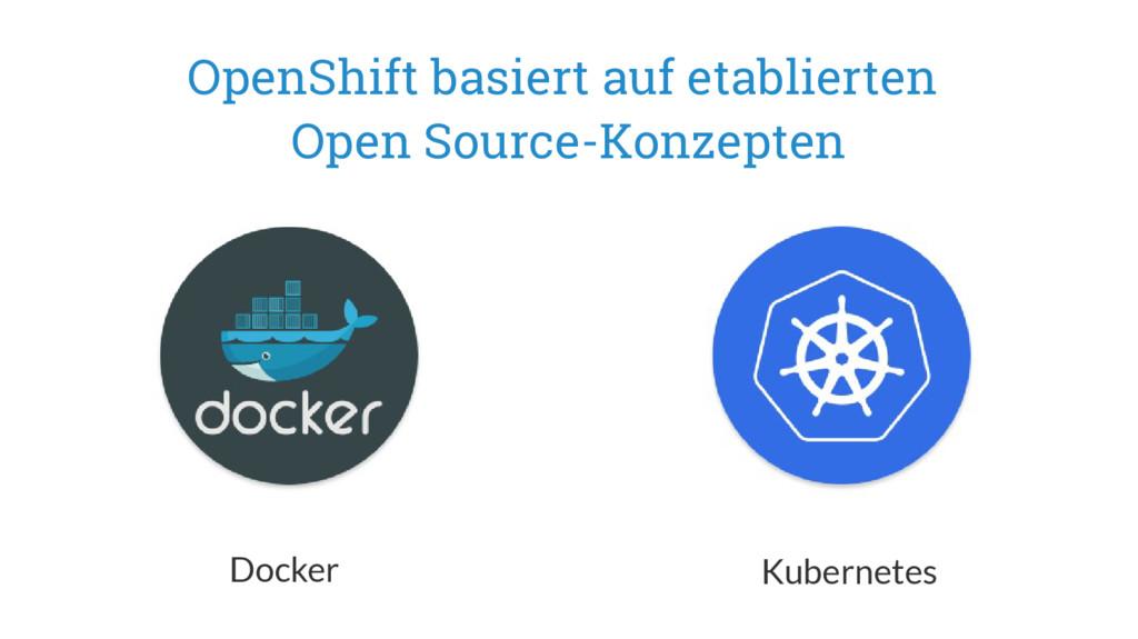 OpenShift basiert auf etablierten Open Source-K...
