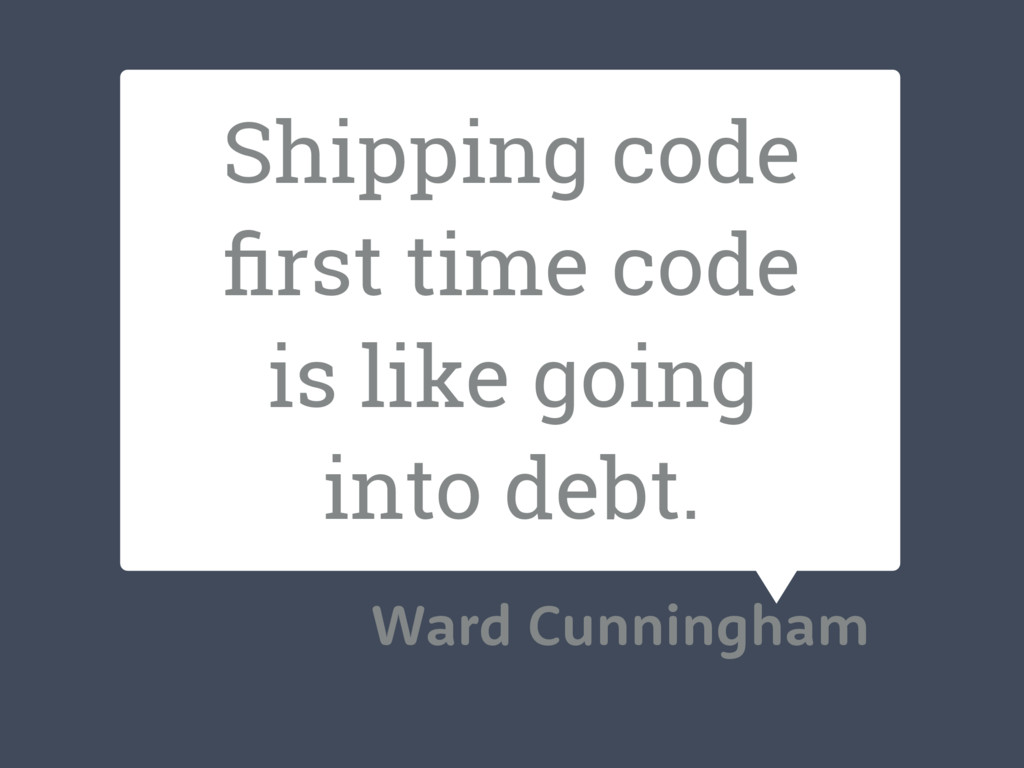 Shipping code first time code is like going into...