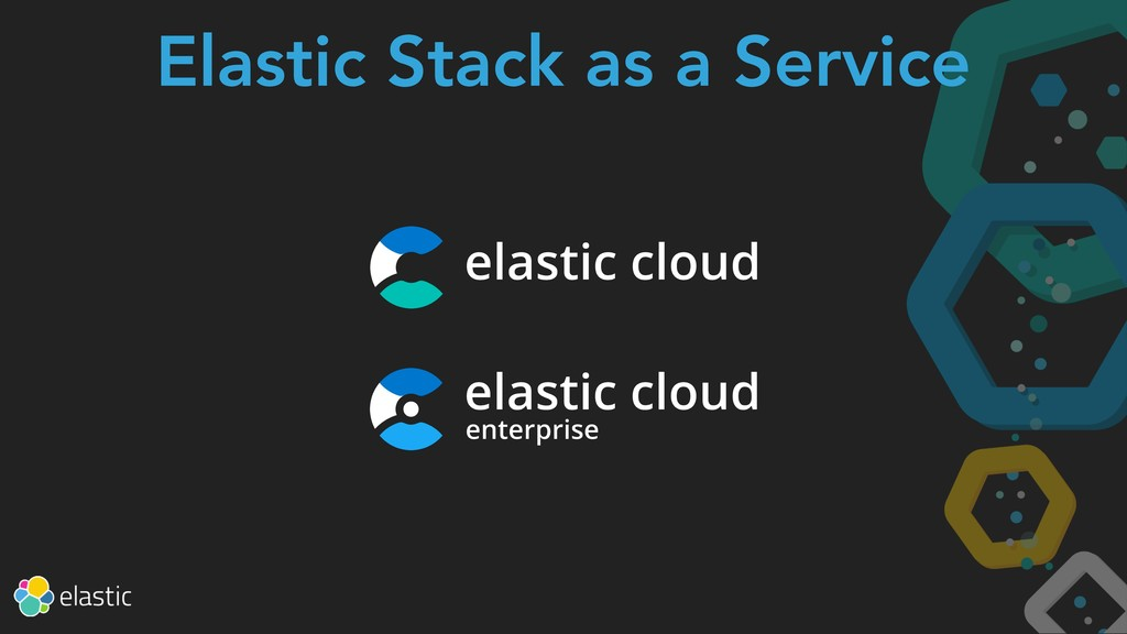 Elastic Stack as a Service