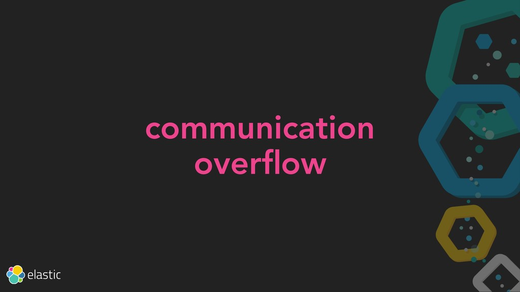 communication overflow
