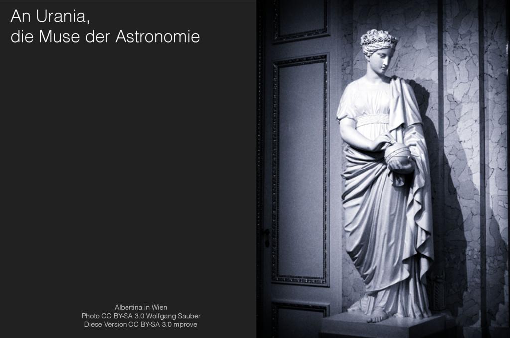 An Urania, die Muse der Astronomie Albertina i...