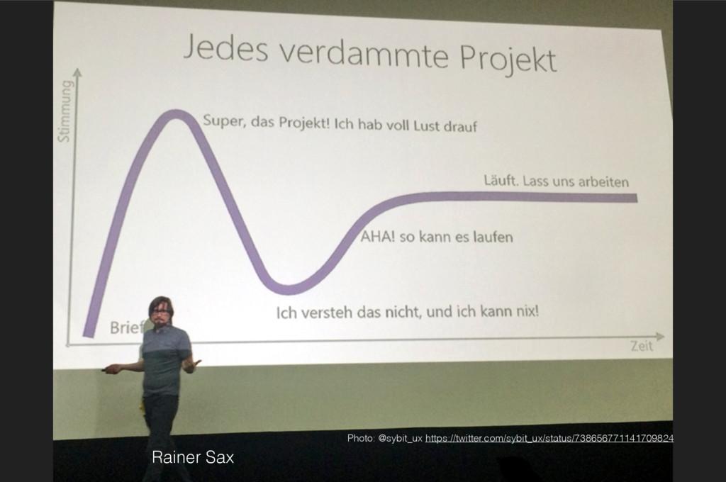 Rainer Sax Photo: @sybit_ux https://twitter.com...