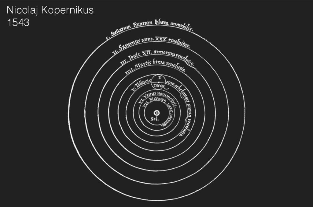 Nicolaj Kopernikus 1543