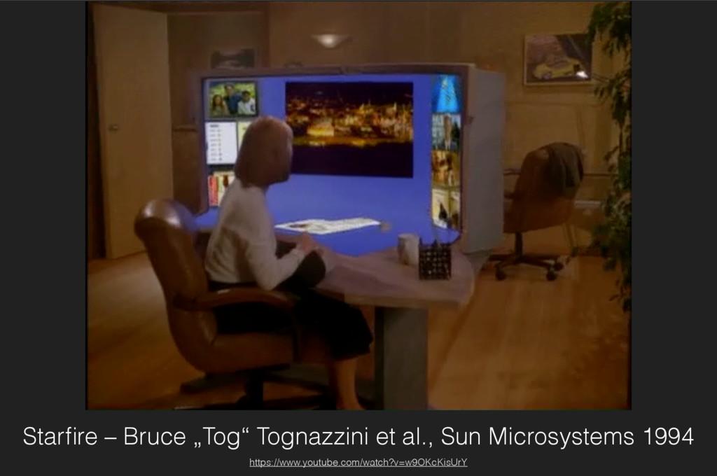 """Starfire – Bruce """"Tog"""" Tognazzini et al., Sun Mi..."""
