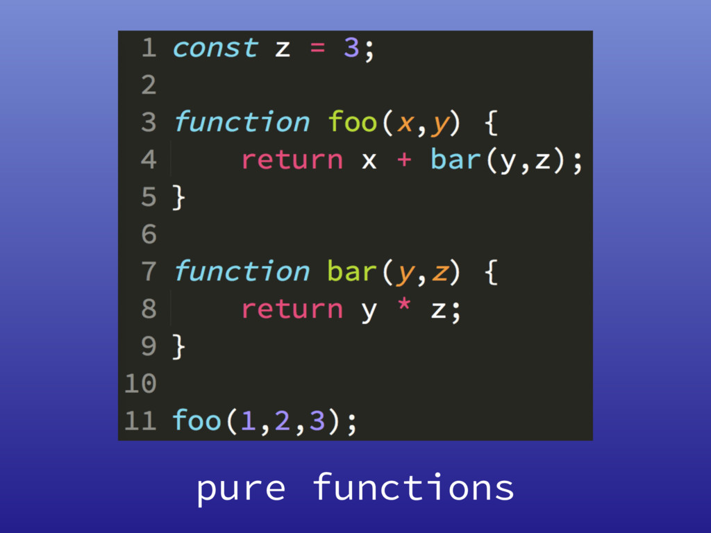 pure functions