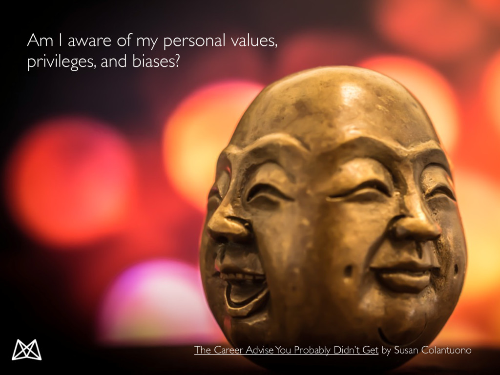 Am I aware of my personal values, privileges, a...