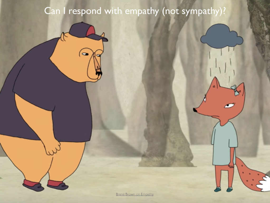 Brene Brown on Empathy Can I respond with empat...