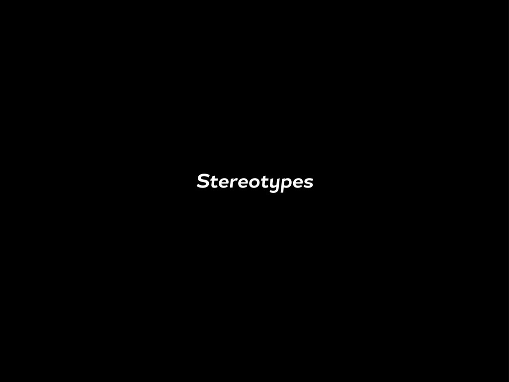 Stereot pes