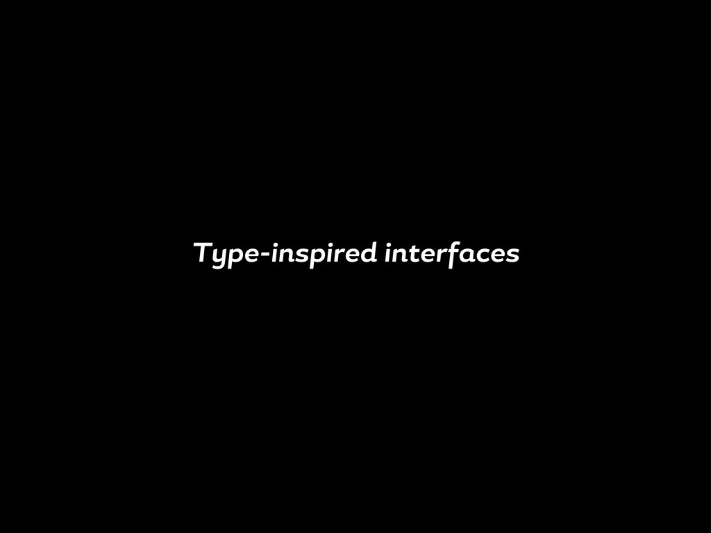T pe-inspired inter ces