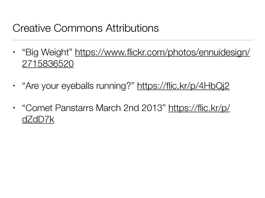 "Creative Commons Attributions • ""Big Weight"" ht..."