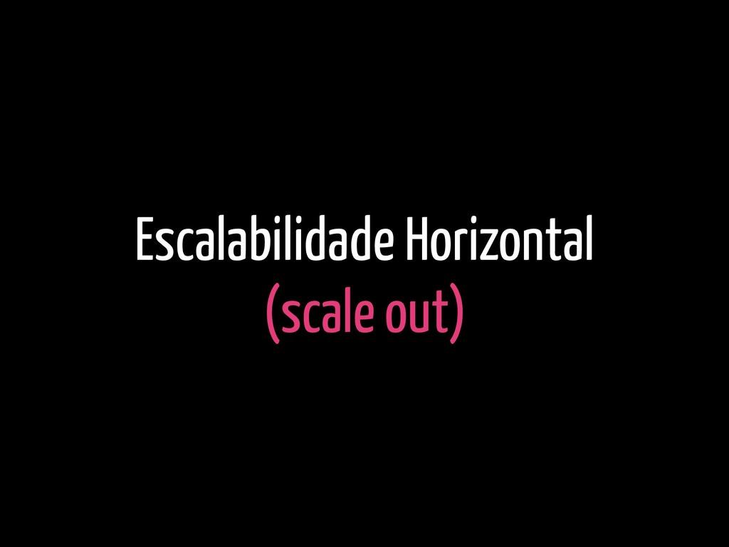 Escalabilidade Horizontal (scale out)