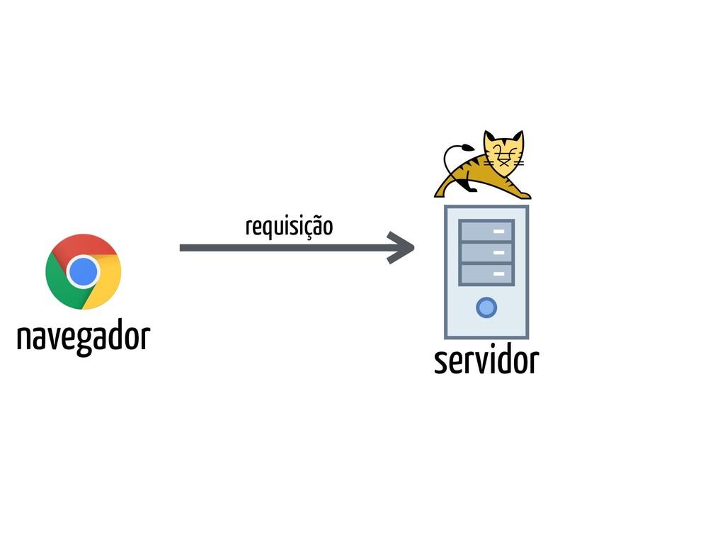navegador servidor requisição