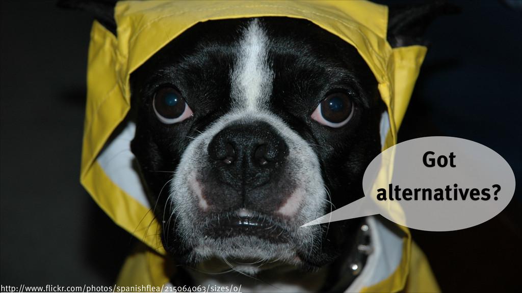 © 2014 innoQ Deutschland GmbH Got alternatives?...