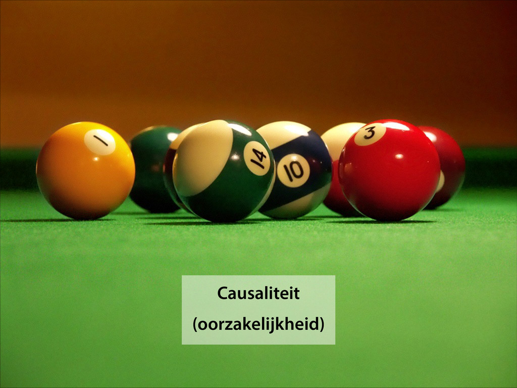 Causaliteit (oorzakelijkheid)
