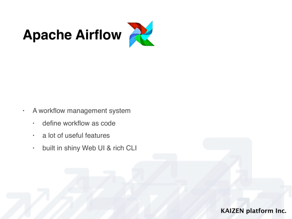 Apache Airflow • A workflow management system • d...