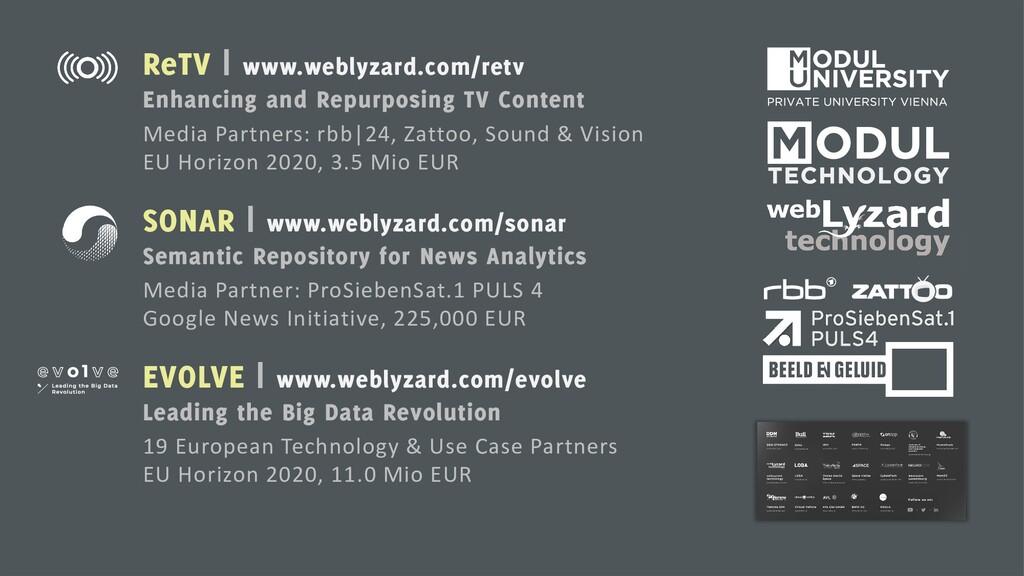ReTV | www.weblyzard.com/retv Enhancing and Rep...