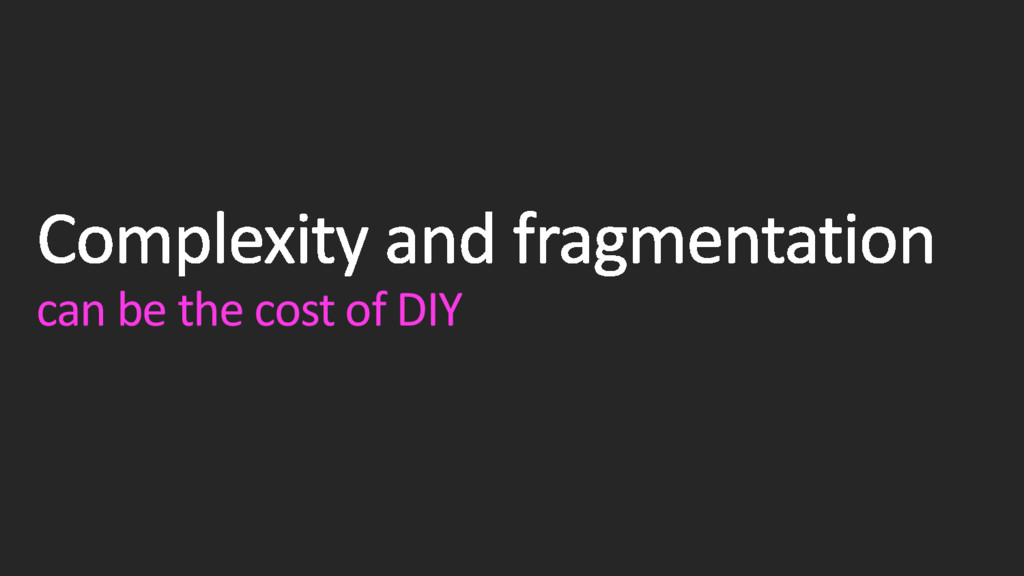 can be the cost of DIY