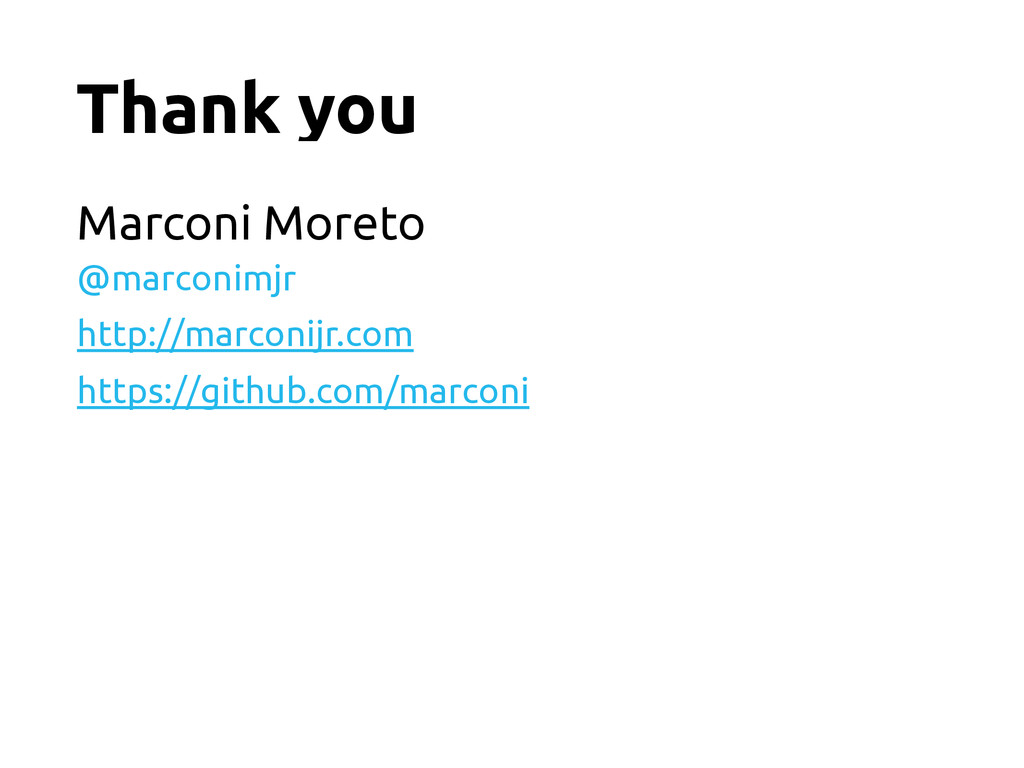 Thank you Marconi Moreto @marconimjr http://mar...