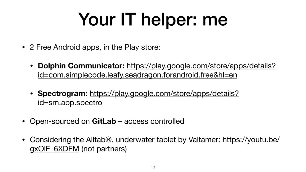 Your IT helper: me • 2 Free Android apps, in th...