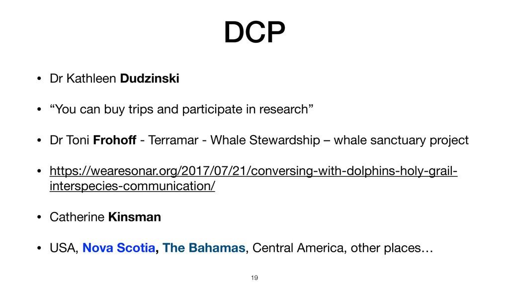 "DCP • Dr Kathleen Dudzinski  • ""You can buy tri..."