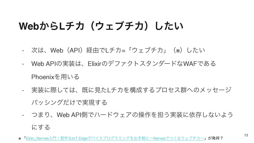 - ɺWebʢAPIʣܦ༝ͰLνΧ=ʮΣϒνΧʯʢ※ʣ͍ͨ͠ - Web APIͷ࣮...