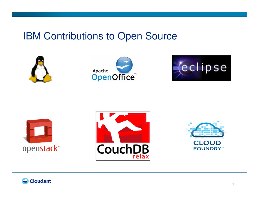 4 IBM Contributions to Open Source