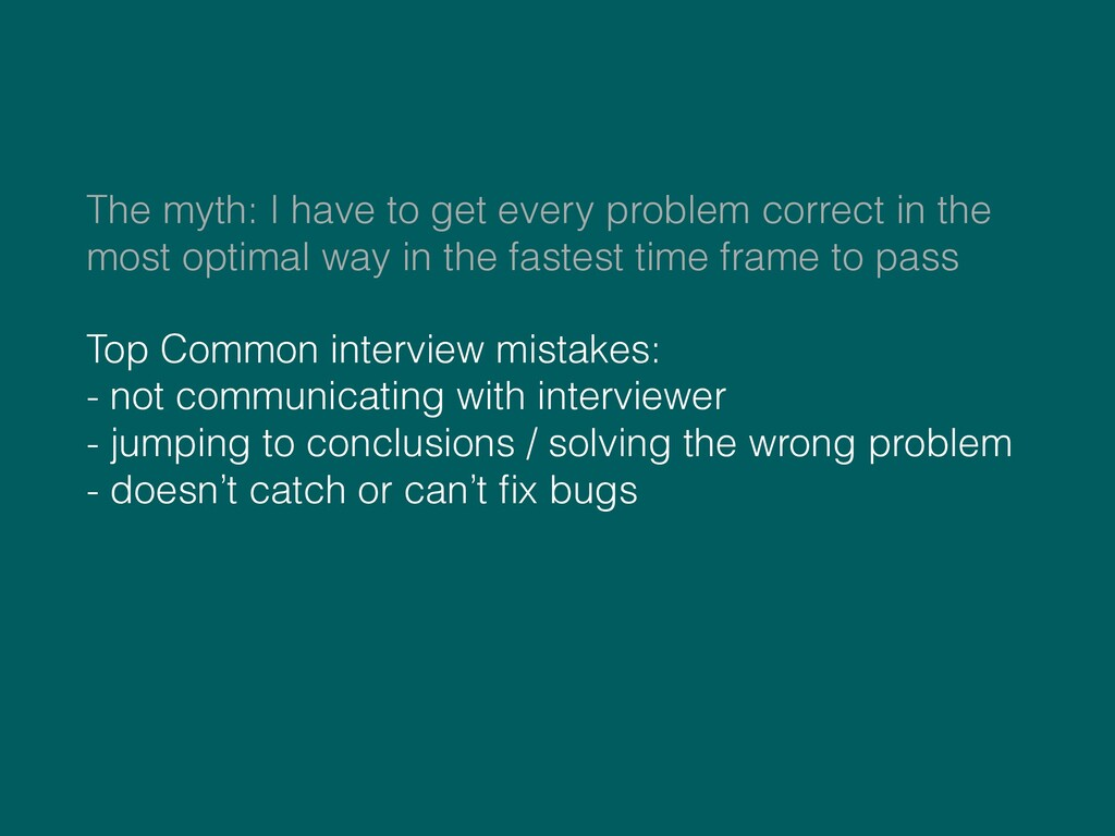 The myth: I have to get every problem correct i...