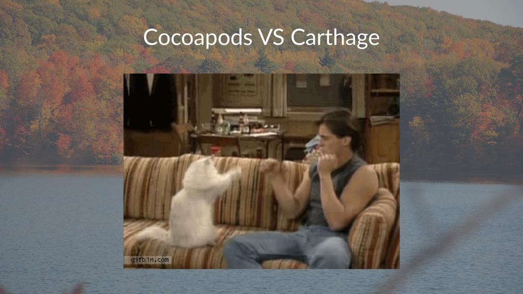Cocoapods(VS(Carthage