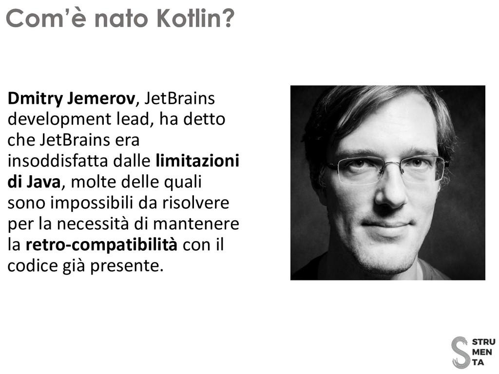 Dmitry Jemerov, JetBrains development lead, ha ...