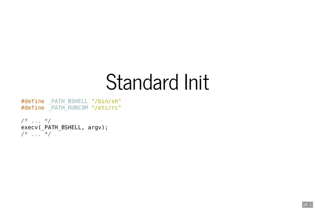 "Standard Init #define _PATH_BSHELL ""/bin/sh"" #d..."