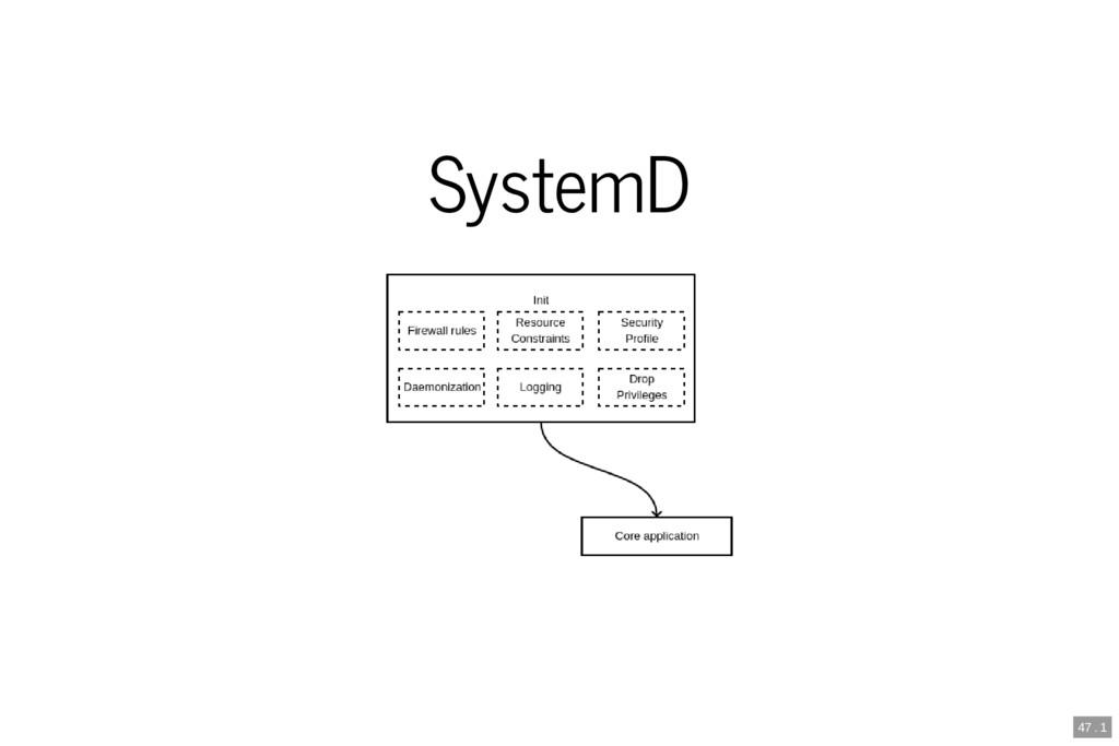 SystemD 47 . 1