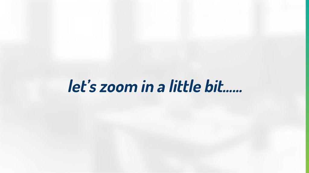 let's zoom in a little bit…...