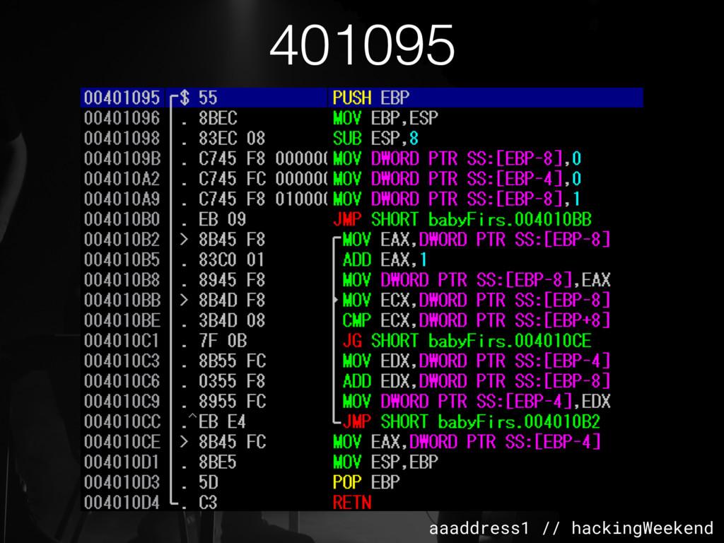 aaaddress1 // hackingWeekend 401095