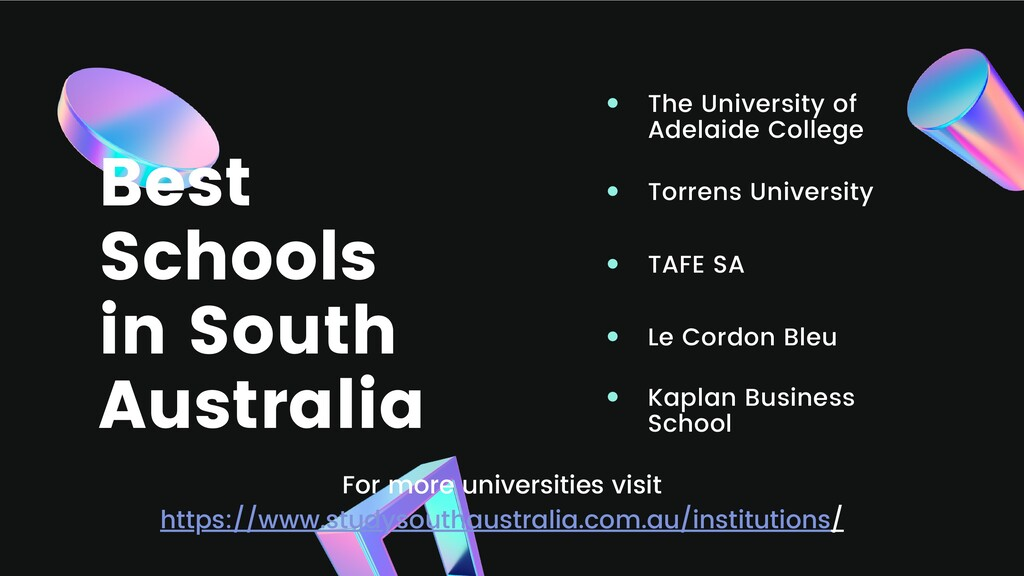 Best Schools in South Australia The University ...