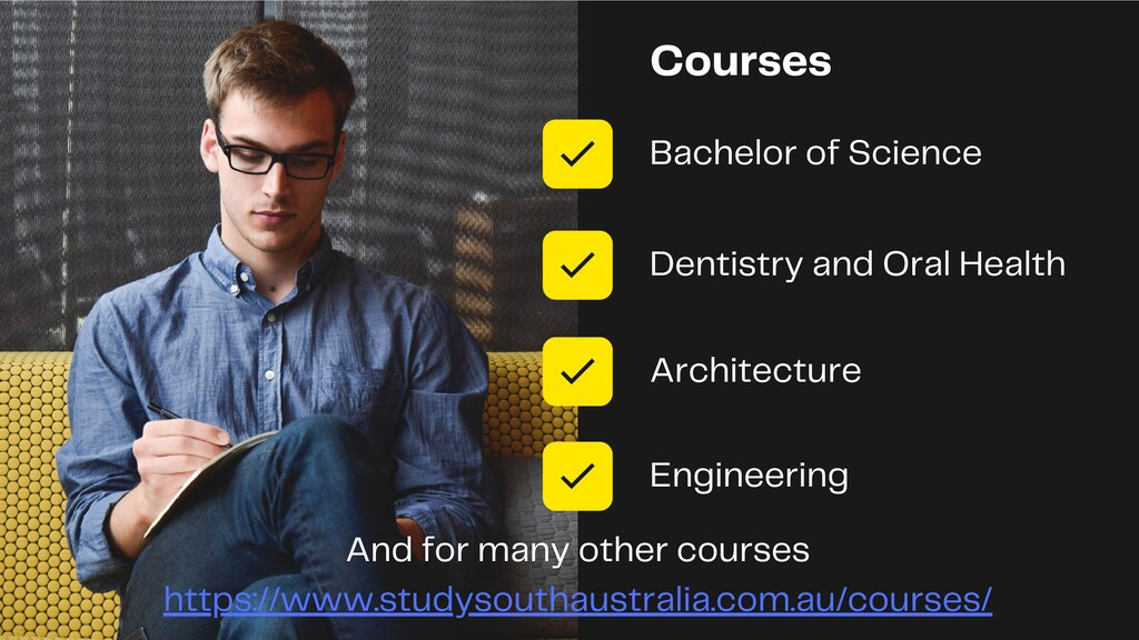 Courses Bachelor of Science Dentistry and Oral ...