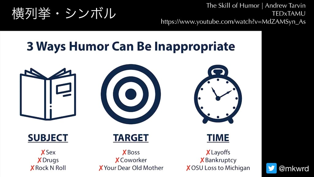 ԣྻڍɾγϯϘϧ The Skill of Humor   Andrew Tarvin TED...