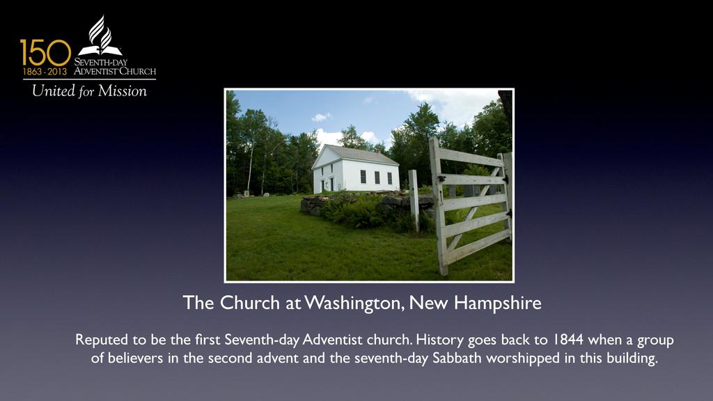 The Church at Washington, New Hampshire  Repu...
